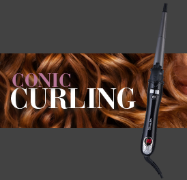 Automatic Conic Curling